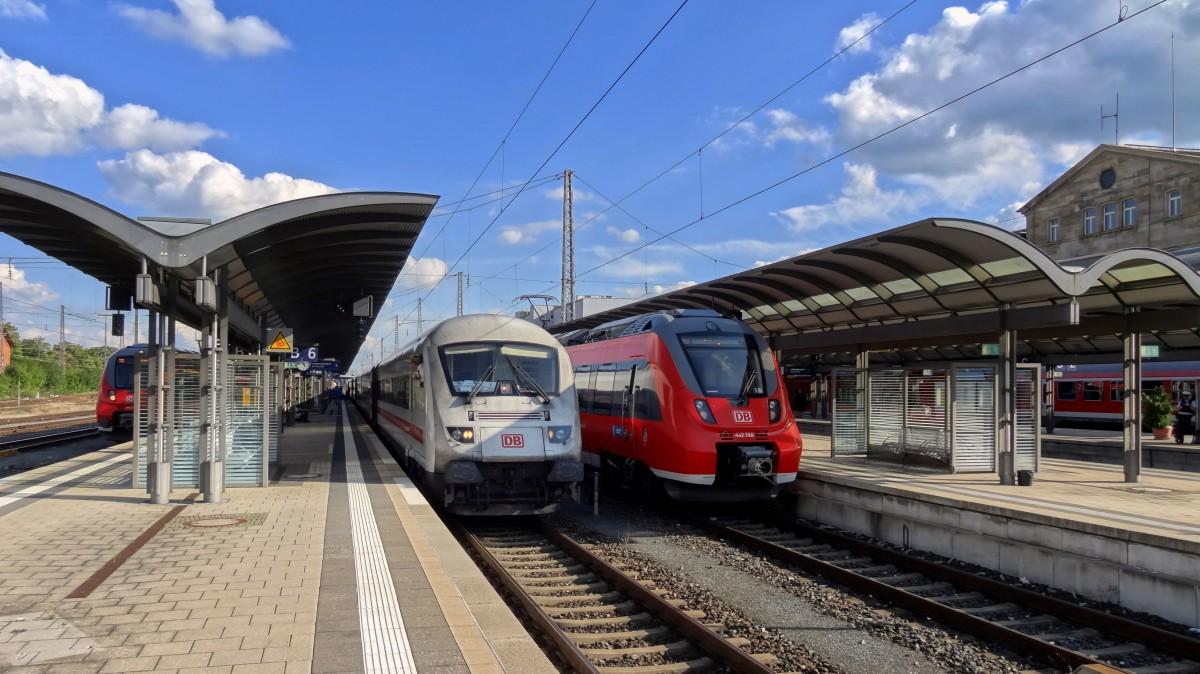 Zug Bamberg Nürnberg