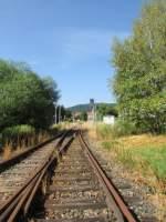 friedrichroda/284249/die-weichenverbindung-1-2-in-richting-ausfahrt Die Weichenverbindung 1-2 in richting Ausfahrt am 27.Juli.2013 in Friedrichroda