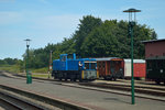 251 901-5 rangiert am 23.07.2016 in Putbus